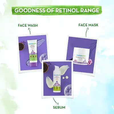 mamaearth retinol range