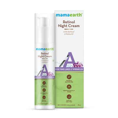 Retinol Night Cream For Women with Retinol and Bakuchi for Anti Aging, Fine Lines and Wrinkles – 50 g