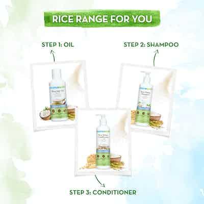 mamaearth rice water range