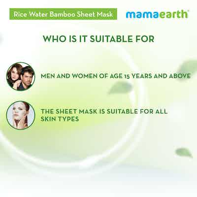 hydrating sheet mask for sensitive skin for mena and women