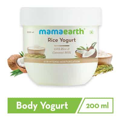 Rice Yogurt for Intense Moisturization with Rice and Coconut Milk
