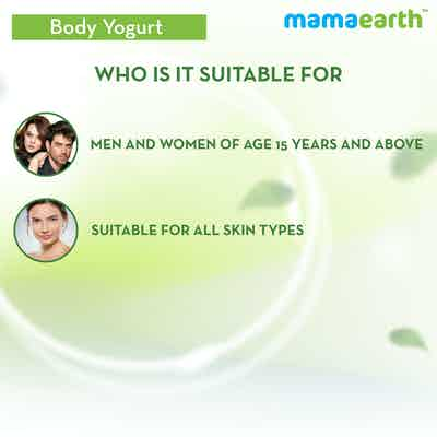 Mamaearth Rice Yogurt is suitable for all skin type