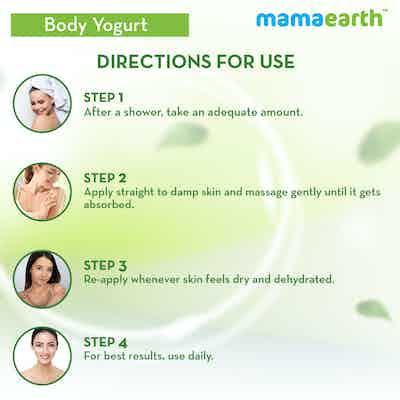 How to use Mamaearth Rice Yogurt