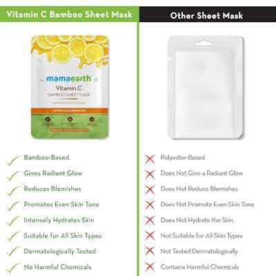 vitamin c face mask sheet