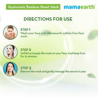 how to use Hyaluronic Bamboo Sheet Mask