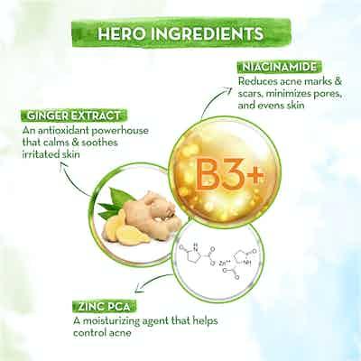 key ingredients Skin Correct Face Serum with Niacinamide
