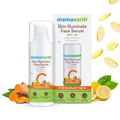 mamaearth skin illuminate face serum