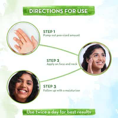 how to use   mamaearth vitamin c serum