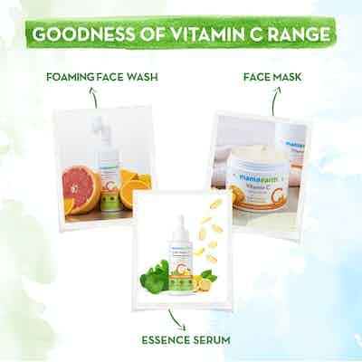 mamaearth vitamin c products