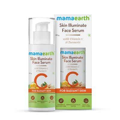 mamaearth vitamin c serum with turmeric