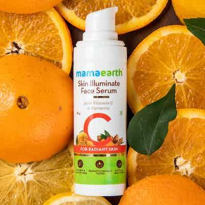 mamaearth vitamin c serum