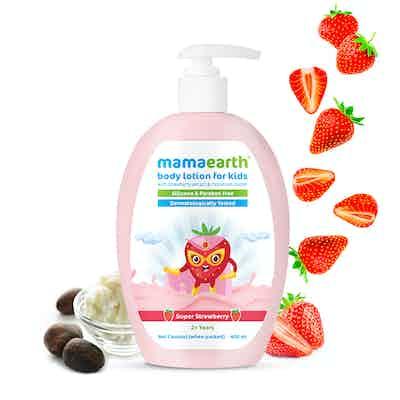 Mamaearth Super Strawberry Body Lotion