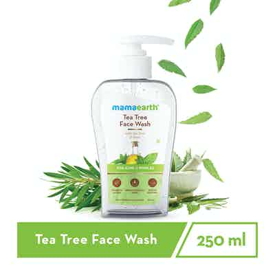 tea tree oil face wash for dry skin