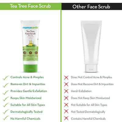 tea tree facial scrub benefits