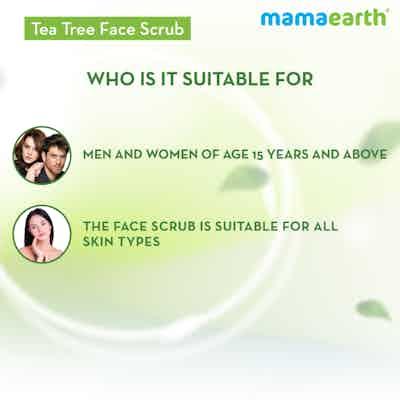 tea tree scrub for acne