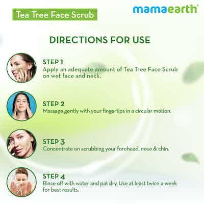 tea tree scrub benefits