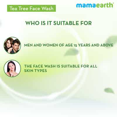 natural tea tree oil face wash