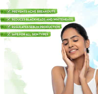 Tea Tree Face Serum prevents acne breakouts