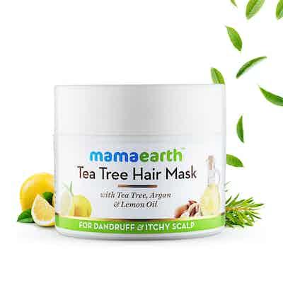 mamaearth hair mask for dandruff