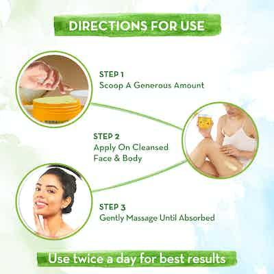 How to use Mamaearth Ubtan Nourishing Cold Cream