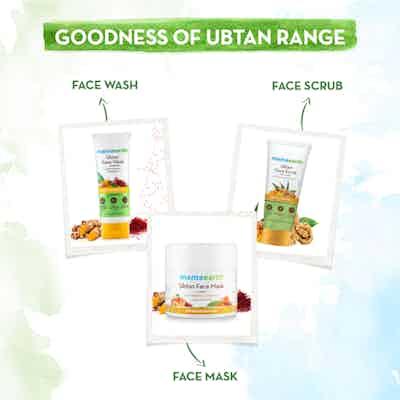 goodness of ubtan range of mamaearth