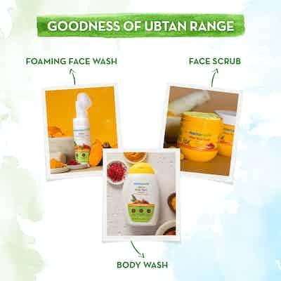 mamaearth ubtan face pack