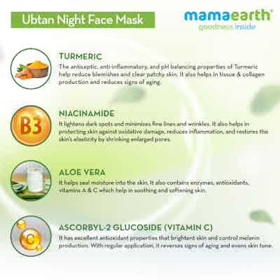 night face mask ingredients