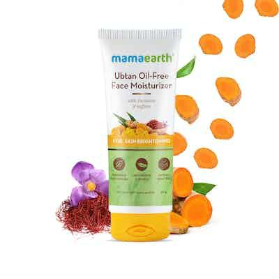 Mamaearth Ubtan Oil-Free Face Moisturizer