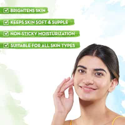 Ubtan Oil-Free Face Moisturizer for Skin Brightening