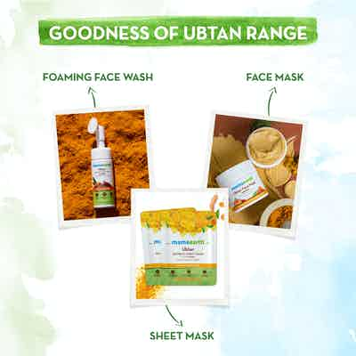 Good skincare ubtan range of Mamaearth