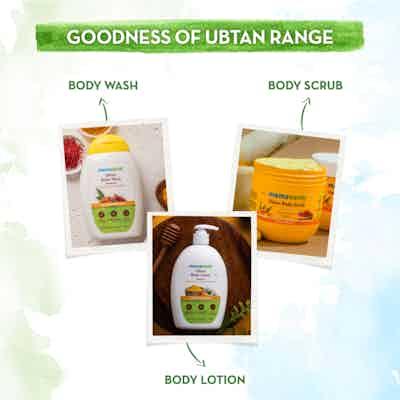 Mamaearth ubtan body range
