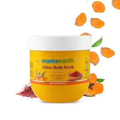 Ubtan Body Scrub with Turmeric and Saffron for Tan Removal – 200 g