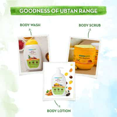 Ubtan Body Scrub with Turmeric and Saffron  ubtan range