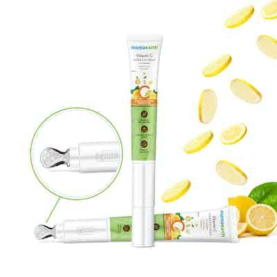 Mamaearth Vitamin C Under Eye Cream for dark circles