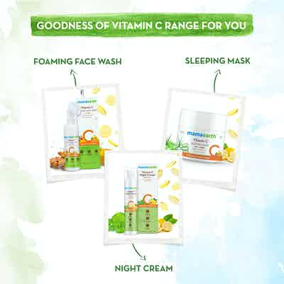 The goodness of vitamin c range from mamaearth