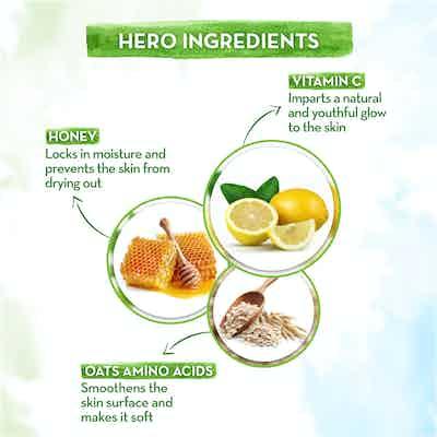 Vitamin C Body Wash with OTAs Amino Acid and Honey