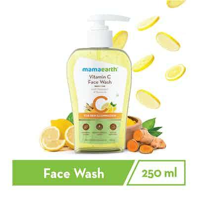 Vitamin C Face Wash with Vitamin C and Turmeric for Skin Illumination – 250ml