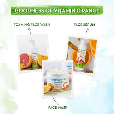 mamaearth vitamin c range