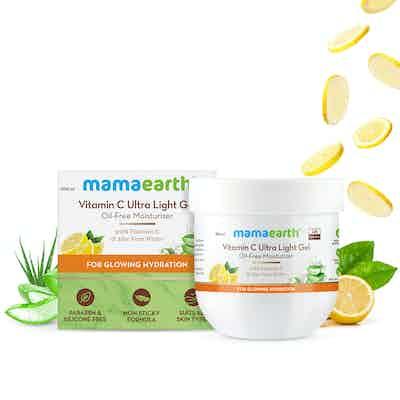 Mamaearth Vitamin C Ultra Light Gel Oil-Free Moisturizer