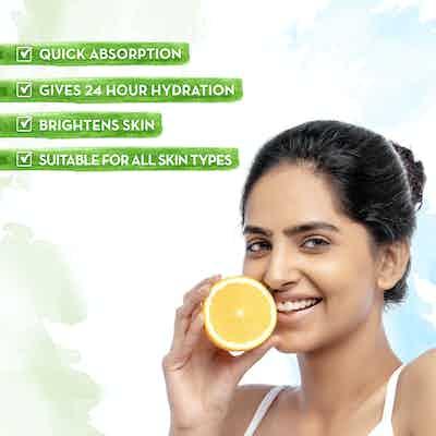 Vitamin C Ultra Light Gel Oil-Free Moisturizer for Glowing Hydration