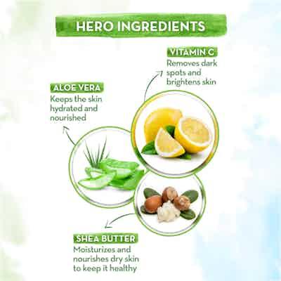 Mamaearth Vitamin C Ultra Light Gel Oil-Free Moisturizer with shea butter and Aloe Vera