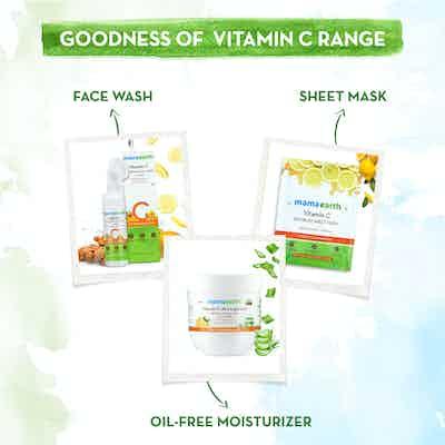 The Goodness Of vitamin C Range Of Mamaearth