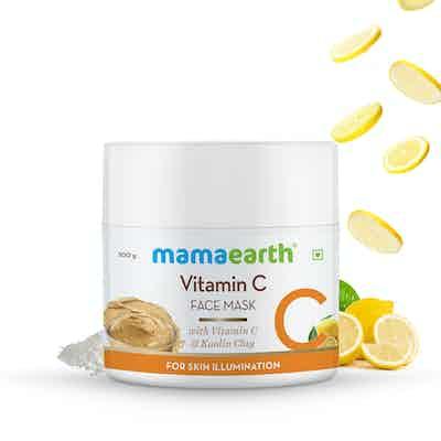 mamaearth vitamin c face mask