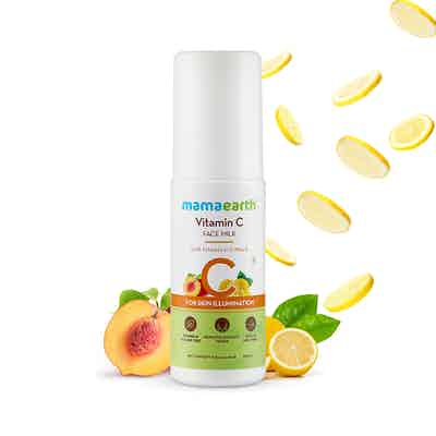 mamaearth vitamin c face milk cream