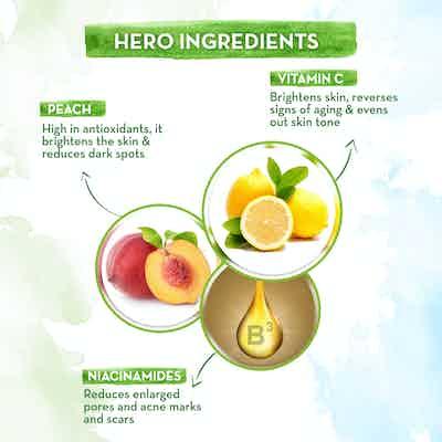 Vitamin C Face Milk with Vitamin C and Peach