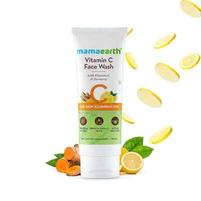 mamaearth vitamin c face wash