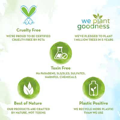 natural and organic vitamin c face wash